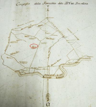 Corografia della parrocchia della Beata Vergine del Boncellino (1785).